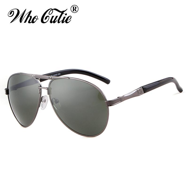 d6e5e44e694 2018 Pilot Sunglasses Men Brand Designer Driving High Quality Alloy ...