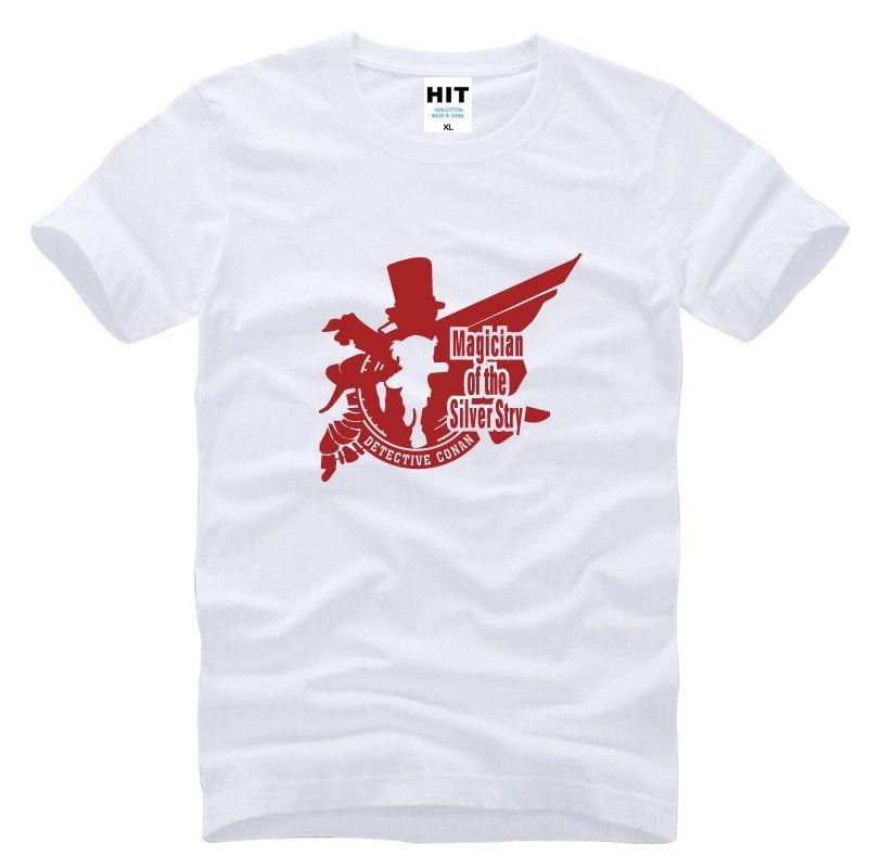 6ff3181cbaf12 Compre Parodia Detective Conan Running Cartoon Mens Hombres Camiseta  Camiseta Moda 2015 Nueva Manga Corta Camiseta De Algodón Tee Camisetas  Hombre A  7.1 ...