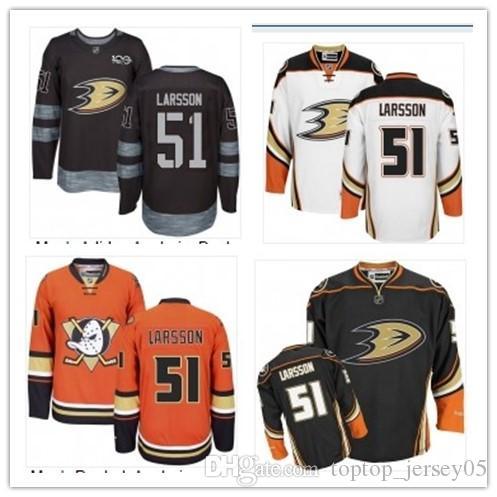 official photos 801fc 20c42 2018 can Anaheim Ducks Jerseys #51 Jacob Larsson Jerseys  men#WOMEN#YOUTH#Men's Baseball Jersey Majestic Stitched Professional  sportswear