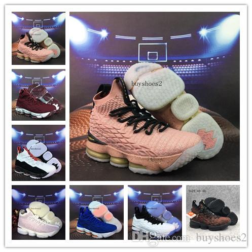 4f1380e0a25 2019 2018 Hot Sale LeBron 15 Hollywood Fruity Pebbles Sports Shoes Mens  Running Shoes James 15 For Sale Size 7 12 From Buyshoes2