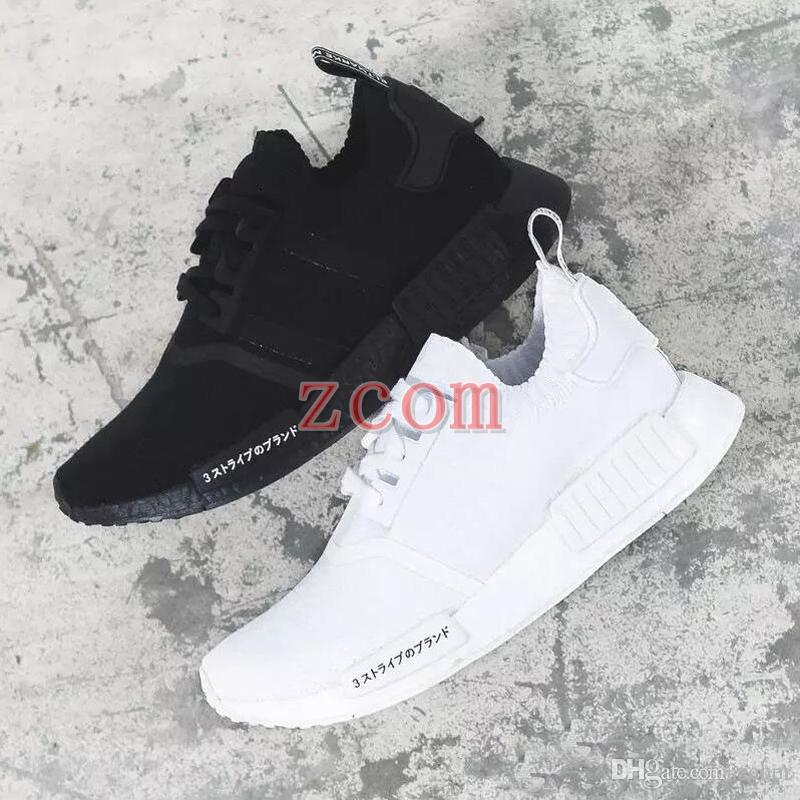 d85d33d74 Classic NMD Runner R1 Pk Og Japan Triple Black White Men Women Running  Shoes Sneakers Nmds XR1 Primeknit Mens Trainers Sports Shoes 2018 Athletic  Shoes ...