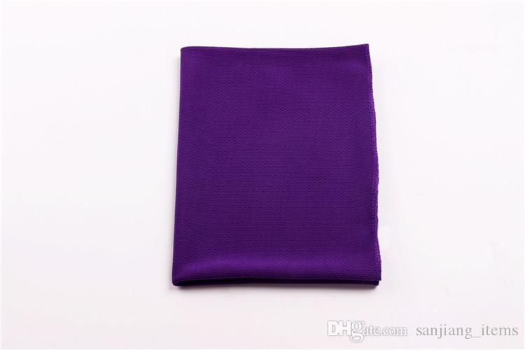 Ice Cool Towel Single Layer Magic Cooling Towel Summer Sunstroke Soft Breathable Towel For Sports Gym Fitness 90*35CM