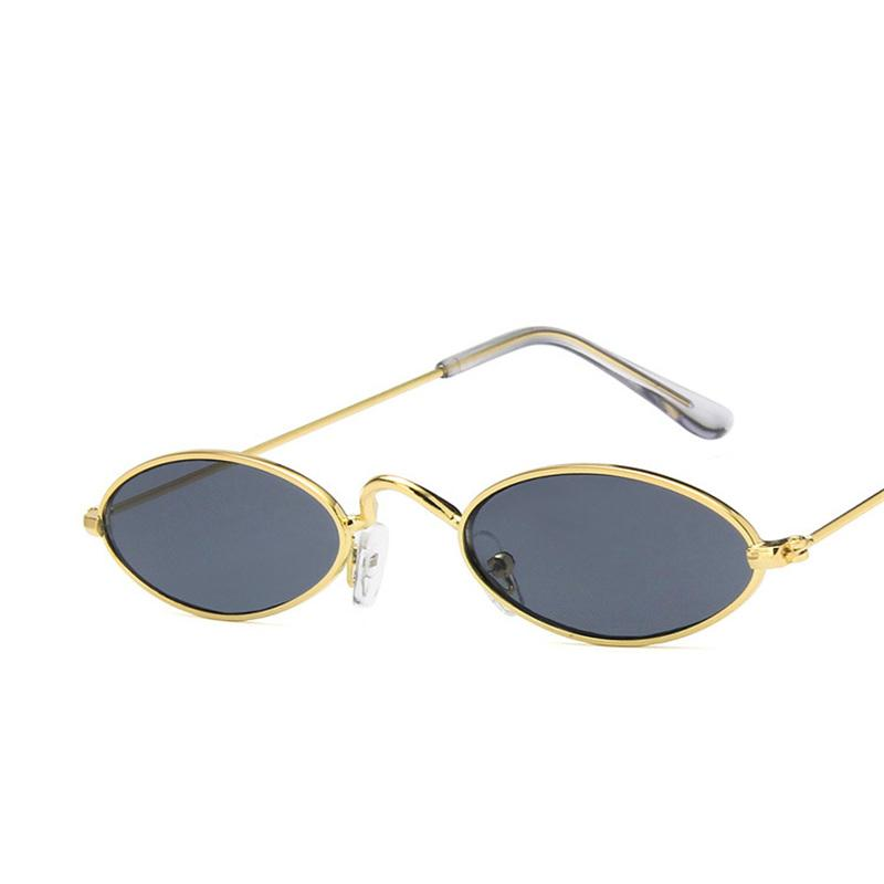 7d03a2622c Vintage Small Oval Shape Gold Silver Color Frame Sunglasses For Women Men Sun  Glasses For Ladies Clear Eyewear UV400 Sunglass Heart Shaped Sunglasses ...