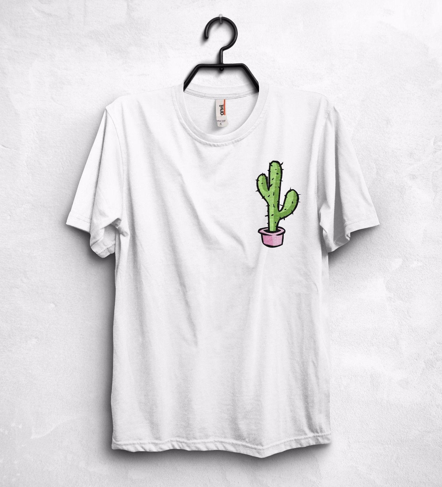 056f3d6637f Cactus Logo T Shirt Top Tumblr Fashion Plants Vegan Cute Insta Instagram  Gift Offensive Shirts Ringer T Shirts From Clothing deals