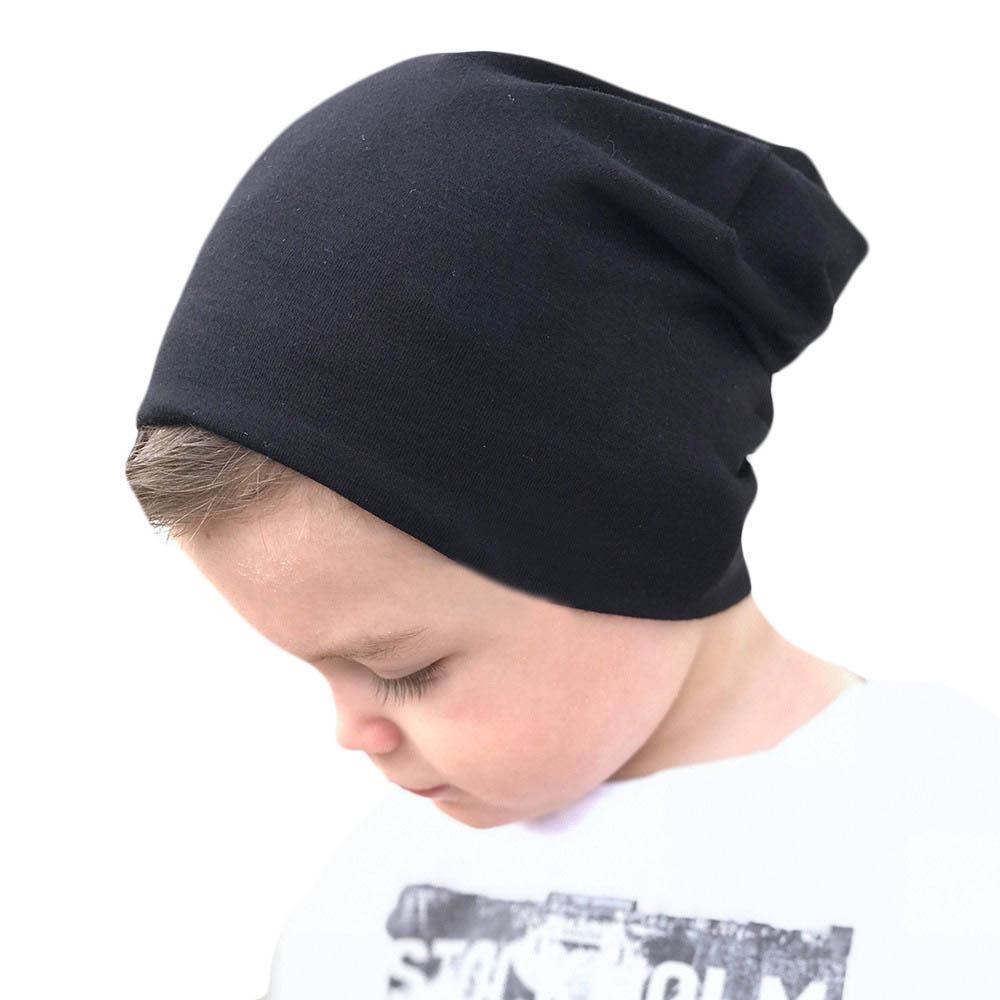 Acheter 2018 Printemps Automne Enfant Enfants Chapeaux Hiver Chaud Chapeau  Bébé Garçon Fille Coton Casquettes Enfants Chaud Tricoté Bonnets Vêtements  ... 53245d950e6