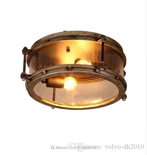 2018 Ceiling Light Iron Craft Retro Industrial Wind Restaurant