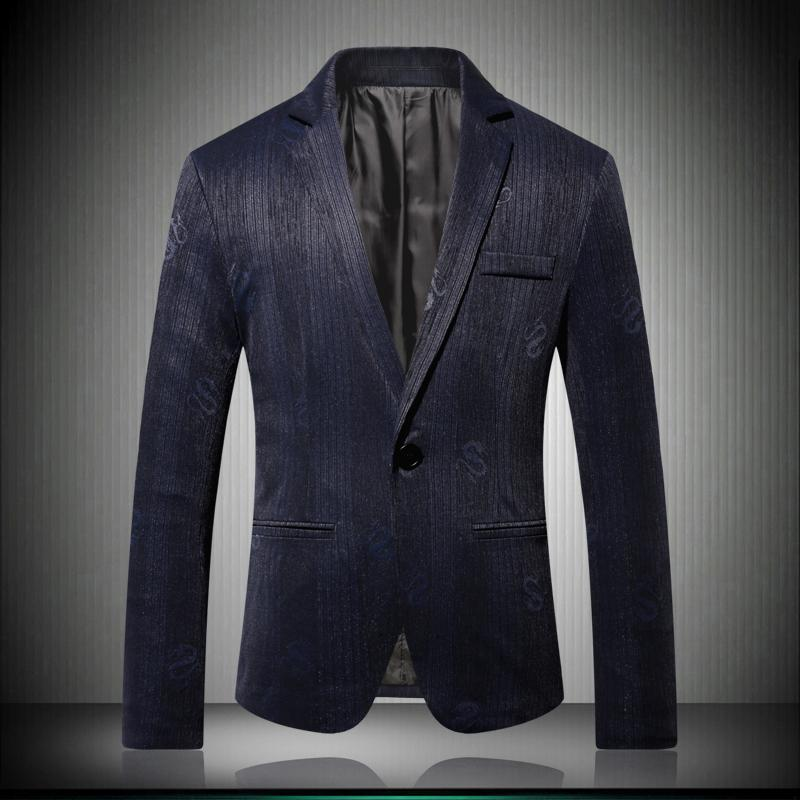 afc3f8291cfa0 Satın Al Erkekler Şık Çiçek Blazers Tasarımcı Marka Slim Fit 2018 Sonbahar  Kış Yeni Iş Rahat Erkek Baskı Desen Takım Elbise Ceket 6604, $95.66 |  DHgate.