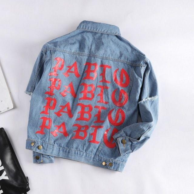 Neue Ankunft Streetwear Brief Drucken Casaco Feminino Vintage Gewaschen Kurze Jeansjacke Für Frauen Freund Langarm Chaqueta Mujer