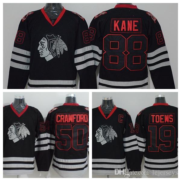 ... best price 2019 chicago blackhawks skull jerseys 50 corey crawford 19  jonathan toews 88 patrick kane dd128e63e