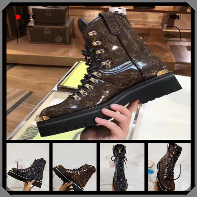 2019 Designer Shoes Luxury high heels Boots Fashion Luxury Designer Brand Womens designers Black heels Boots size 35-45