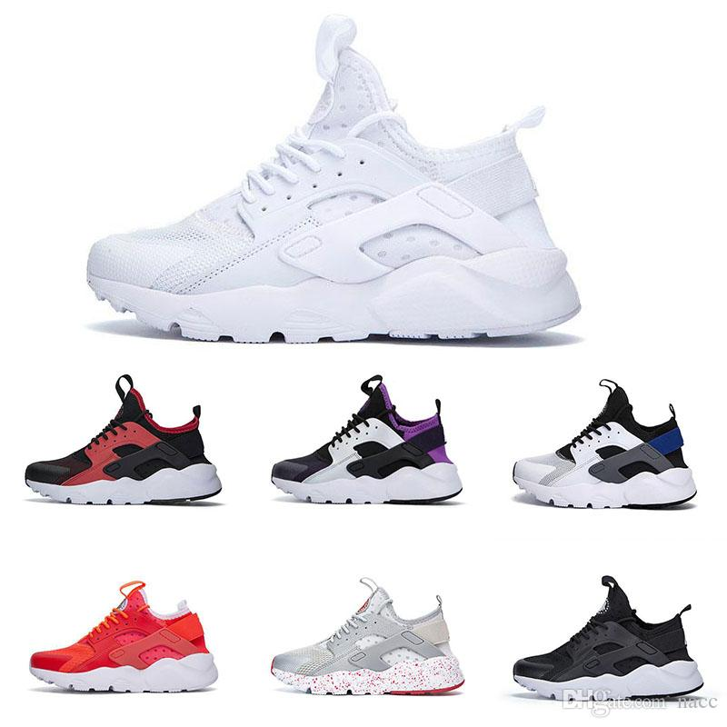 huge discount b3d9c b1275 Huarache 4 IV Running Shoes For Women Men Lightweight Huaraches Sneakers  Athletic Sport Outdoor Huarache Shoes