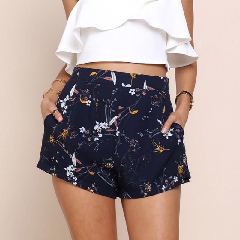 Gepäck & Taschen 2018 Mode Gedruckt Hohe Taille Shorts Frauen Sexy Hot Shorts Sommer Lose Beiläufige Kurze Feminino Plus Größe Xxl