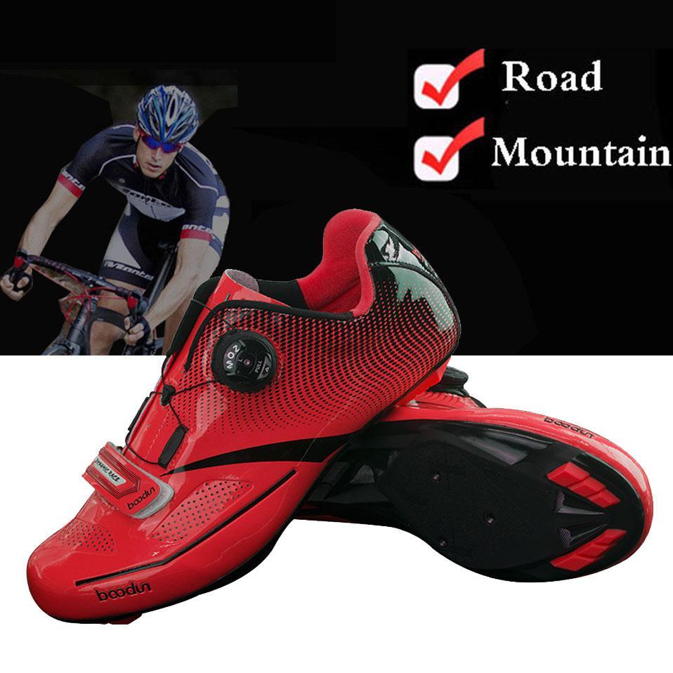 Breathable Pro Radfahren Schuhe MTB Fahrrad Selbstsichernde Schuhe Ultralight Athletic Racing Turnschuhe Sapatos de ciclismo