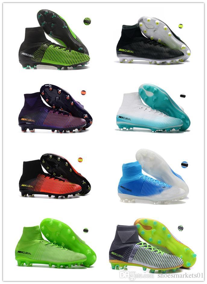 7a4cefbf744 2017 Cristiano Ronaldo Cr7 Soccer Shoes Original Soccer Cleats ...
