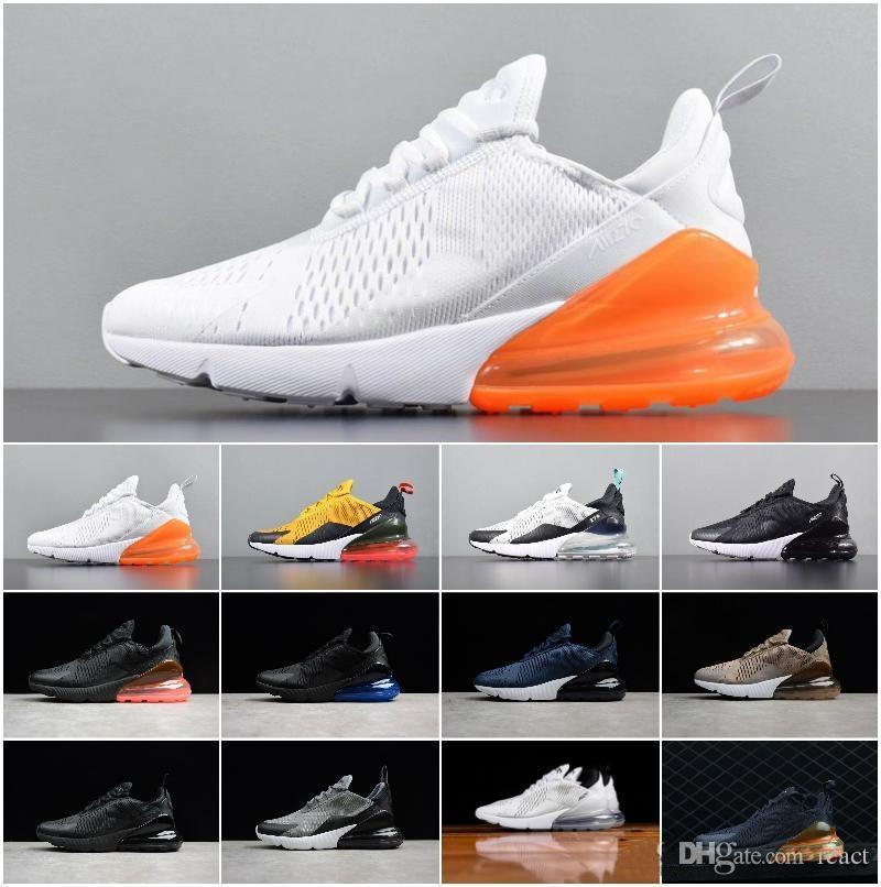 cheaper 8bad4 e1842 Acheter 2018 Original Nouvelle Arrivée Authentique Marque Airs 270 Hommes  Chaussures De Course Sneakers Sport En Plein Air Confortable Respirant Bonne  ...