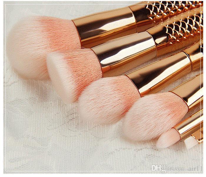 مجموعة فرش مكياج ميرميد HOT 6 قطع فرش للمكياج Tech Professional Beauty Cosmetics