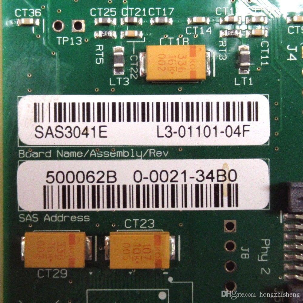 SAS3041E-4 SAS PCI-E 4X SAS B3 dizi kart çipi 100% mükemmel kalite test
