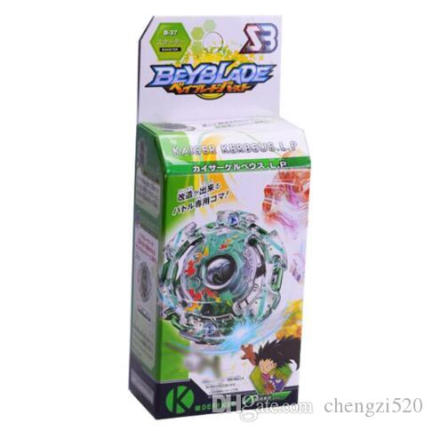 1 pc Spinning Top Beyblade Burst With Launcher And Original Box 3056 Metal Plastic Fusion 4D Classic Toys Gift For Kids Adults