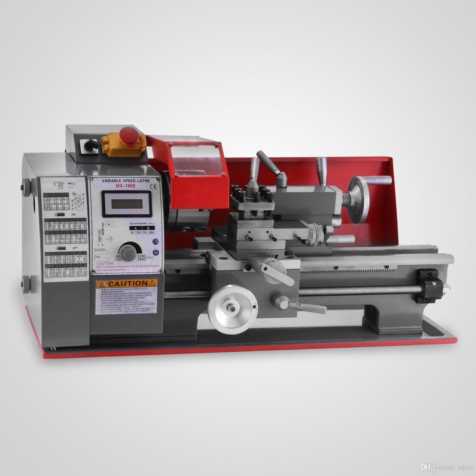 Factory price !!! 600W Top one Sales volume Metal Mini Turning Lathe  Machine Motorized Metalworking DIY Wood Tool Universal