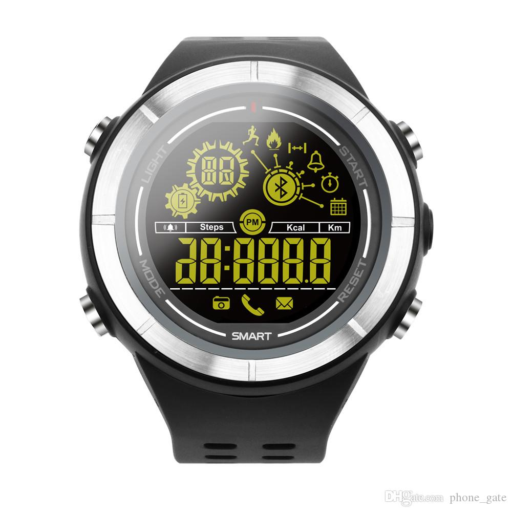EX32 Luxury Watches Bluetooth With Touch Screen Camera Remote Steps Counting Sport Women Mens Wristband Alarm Clock Call Reminder SmartWatch