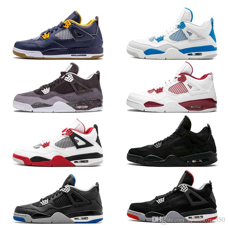 5bd518f94fd 4 Pure Money Basketball Shoes Mens 4s Alternate Toro Bravo Thunder ...