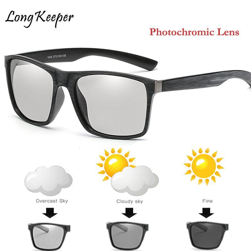 Compre Condução Polarizada Photochromic Óculos De Sol Dos Homens Chameleon  Óculos Retro Mulheres Óculos De Sol Mudar A Cor Drivers Gafas De Sol Hombre  De ... e1fa45a109