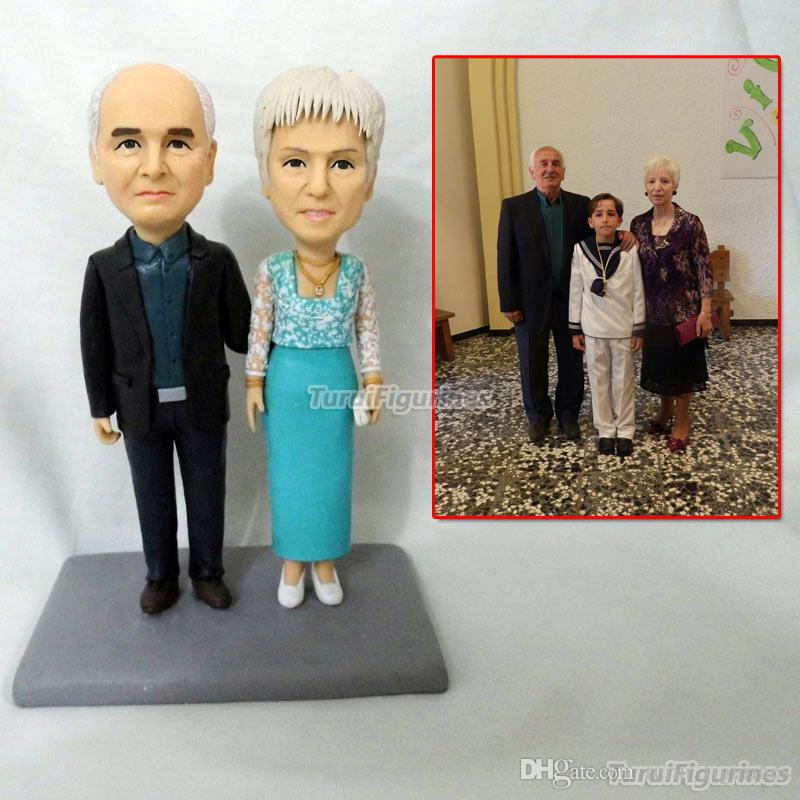 f8957aee754d Resin Doll Figurine Doll Face For Lovers Couple Present Handmade Special  Ooak Dolls Statue From Picture Face Custom Made By Clay Wedding Favors And  Gifts ...