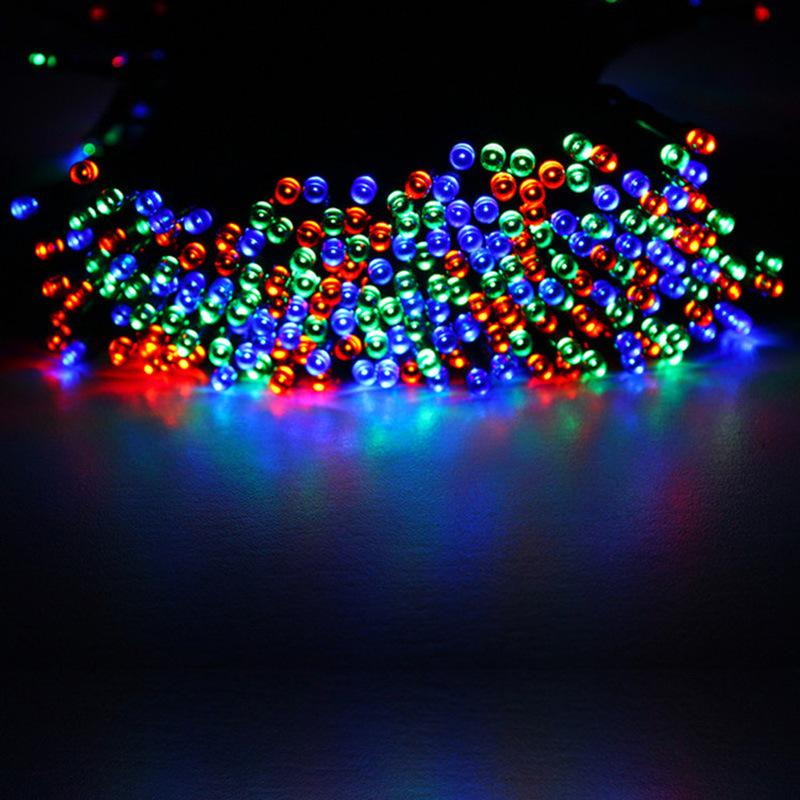 200led solar lamp series 200 christmas light string led festival lights outdoor color lights goods source paper lantern string lights outside string lights