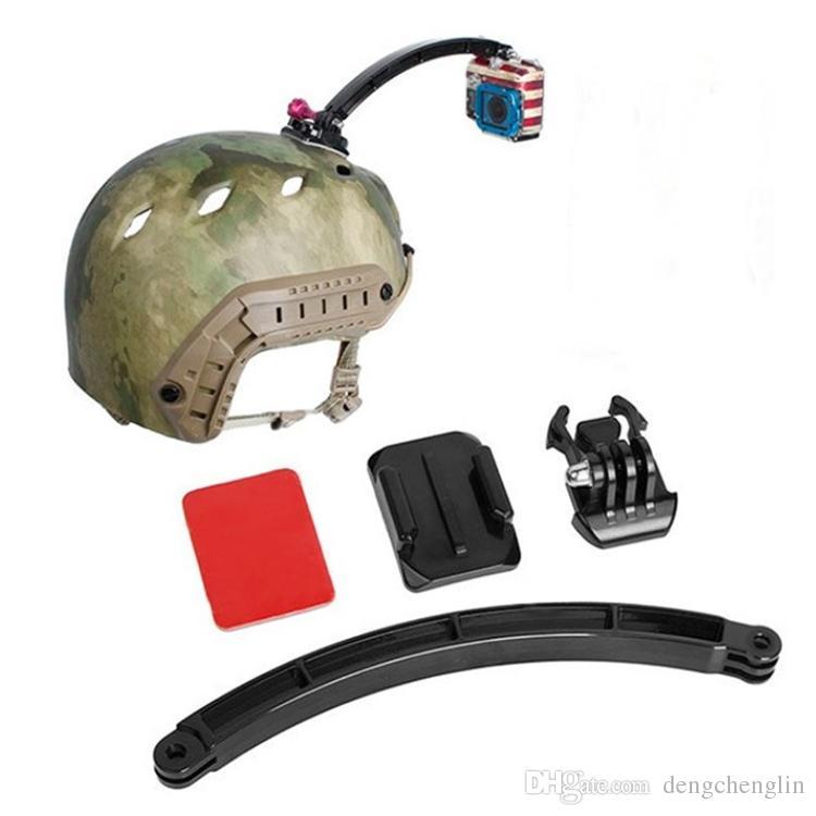 Действие камеры аксессуары шлем дуги автоспуска, мобильная база, дуга 3М пластик, винт для героя, серия SJCAM
