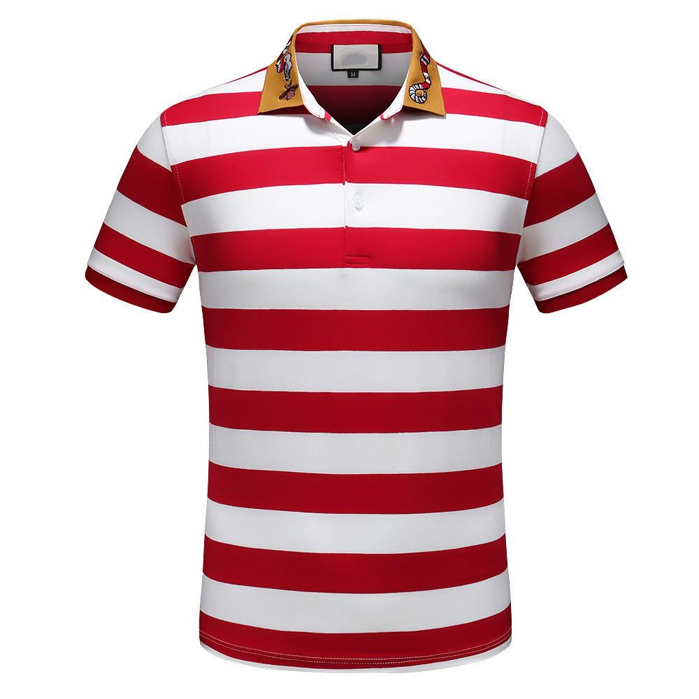 Polo Shirts Hand Painting Wear Embroidery Polo For Men Easy