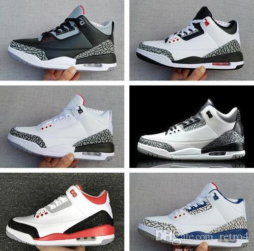 detailed look a22ac a5326 New Designer 3 Mens Basketball Shoes Black Cement White Infrared Cyber  Monday Fire Red Wolf Grey Sport Sneakers Athletics Trainers Shoe