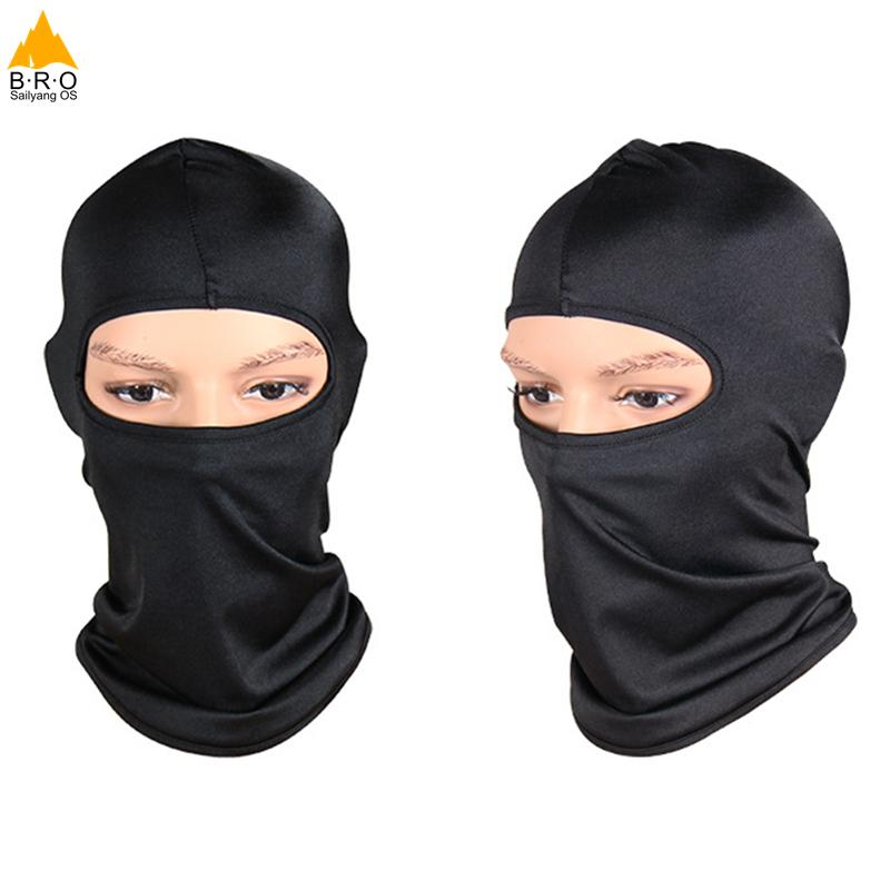 Hot Sale Black Full Face Mask Mountain Bike Bicycle Cycling Outdoor Sports  Masks For Men Women Balaclava Wicking Headgear Neck UK 2019 From  Newhappyness a007f1b03