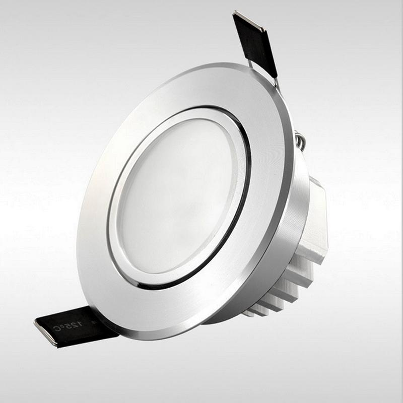 Dimmable Led downlight light frosted mask COB Techo Spot Light 3w 5w 7w 12w 85-265V empotrable luces de techo Iluminación interior
