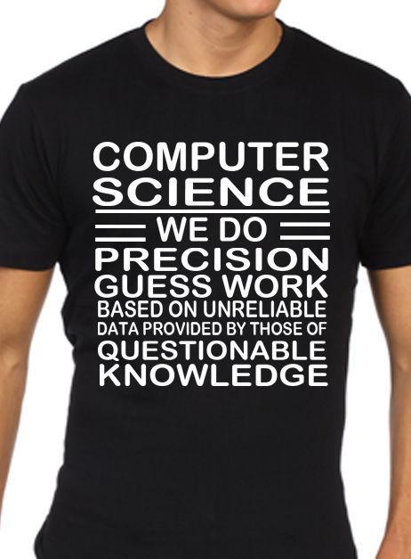 Computer Science T Shirt Funny Mens Computing Programmer Programming