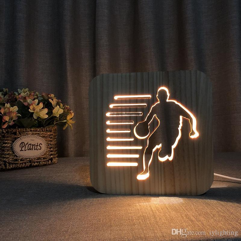 Night Light Kids Room Decor Warm Light Children Sleep Lights Wood Night Lamp  As Holiday Gift IY801101 UK 2019 From Iylighting, UK $$29.9   DHgate UK