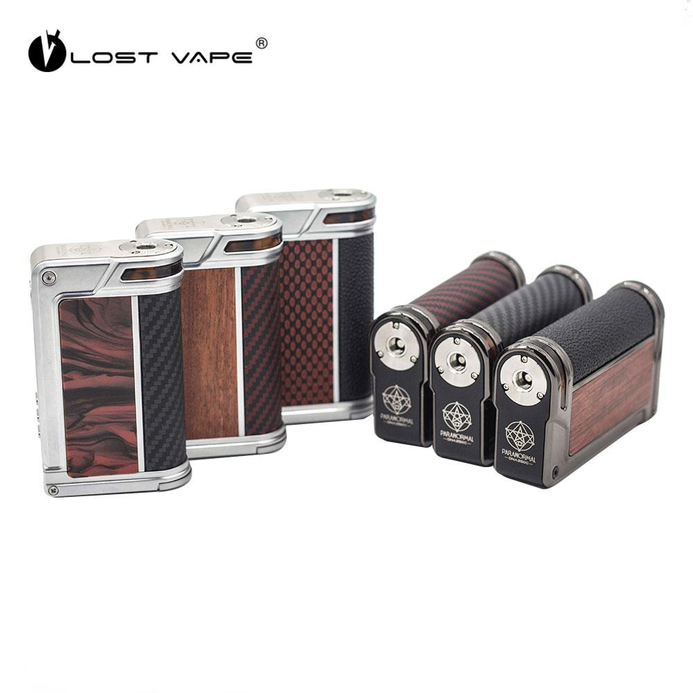 Lost Vape Paranormal 200W DNA250C TC Box MOD with Evolv DNA 250C Board  Chipset Max 200W e cigarettes MOD No 18650 Battery