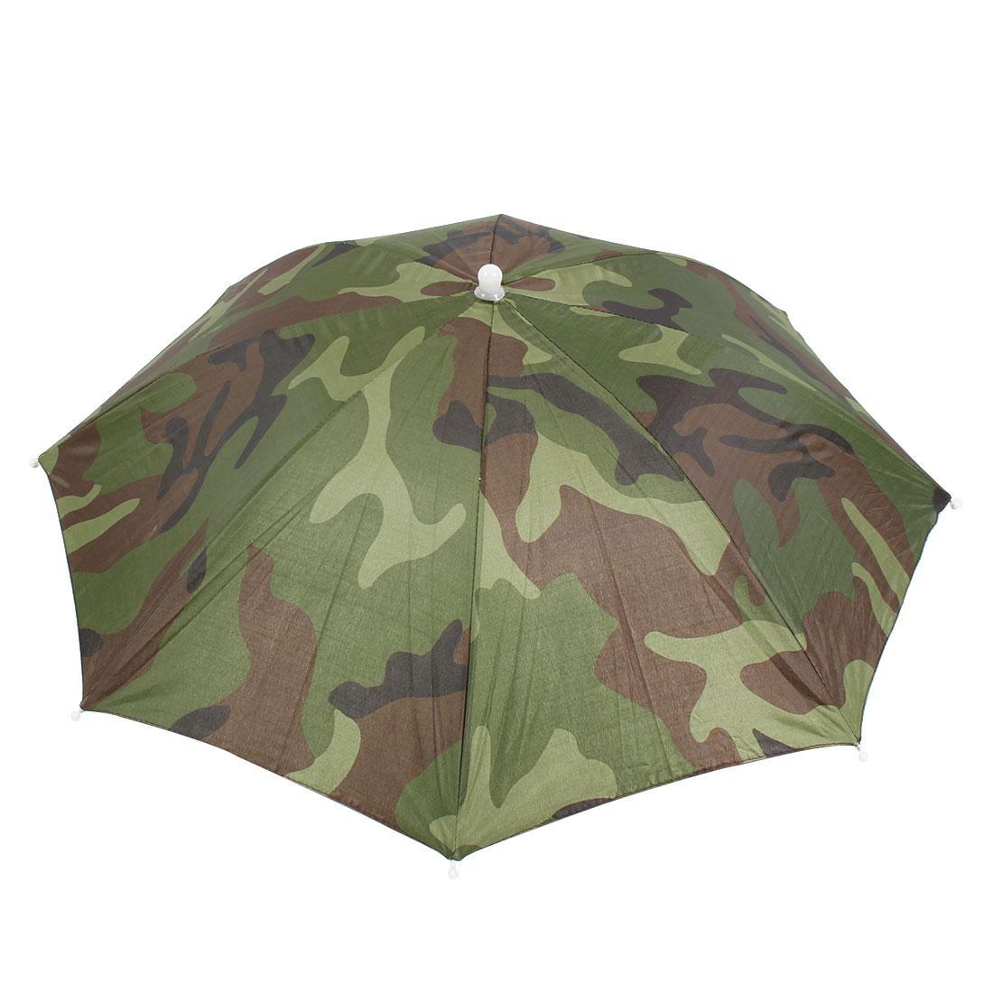 b9162b1351014 2019 UXCELL Elastic Headband Camouflage Paern Sun Rain Umbrella Hat Cap For  Fishing From Smilemen