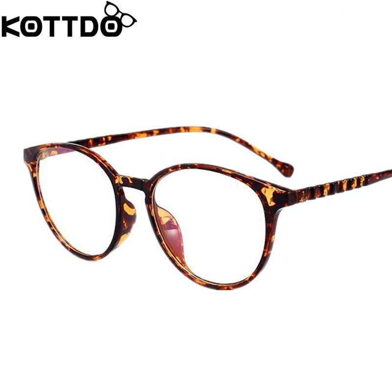 06ee96b2b3 KOTTDO Women  s Fashion Vintage Eye Gasses Frames For Women Reading ...