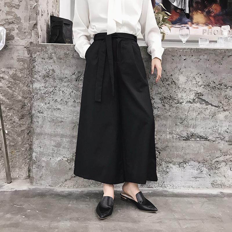Compre Hombres Japón Estilo Falda Casual Pantalones Sueltos Harem Pantalones  De Hombre Kimono Pant Moda Pantalones Anchos Negro Gris A  50.63 Del  Mangcao ... c8e629f18be