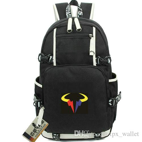 7b3727bd6 Rafa Day Pack Tennis Rafael Nadal Daypack Fans Schoolbag Leisure Packsack  Laptop Rucksack Sport School Bag Out Door Backpack Wheeled Backpacks  Leather ...