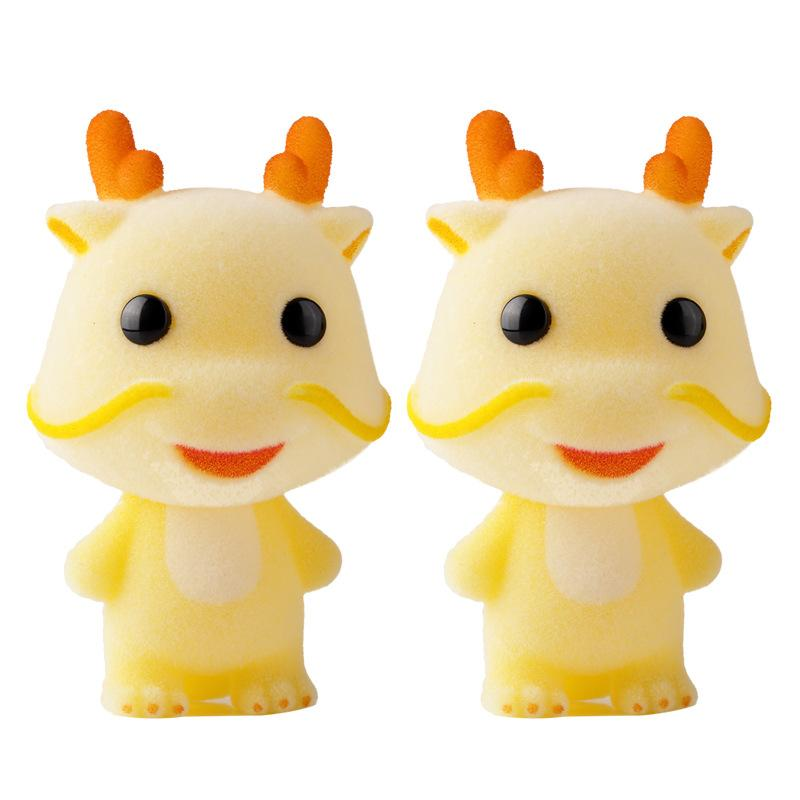 Image of: Ty Beanie 2019 Super Cute Flocking Doll Toys Kawaii Mini Dragon Car Decoration Actions Figure Toys For Girls Exquisite Dolls For Diy Doll House From Cover3085 Dhgatecom 2019 Super Cute Flocking Doll Toys Kawaii Mini Dragon Car Decoration