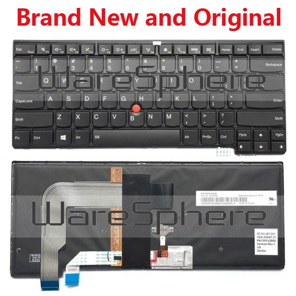 New Original US Backlit Keyboard For Lenovo ThinkPad T470S T460S 00PA534  SN20H42446