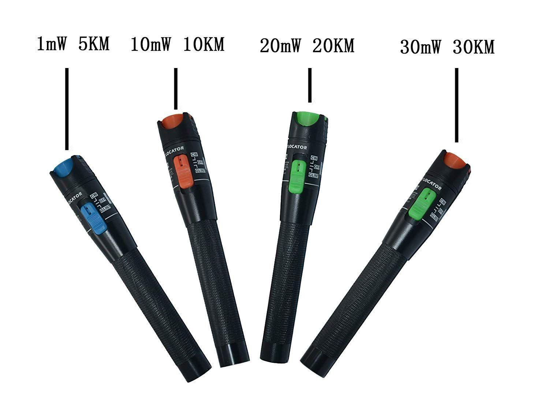 Fiber Optic Fault Locator : 2018 portable visual fault locator fiber optic cable tester meter