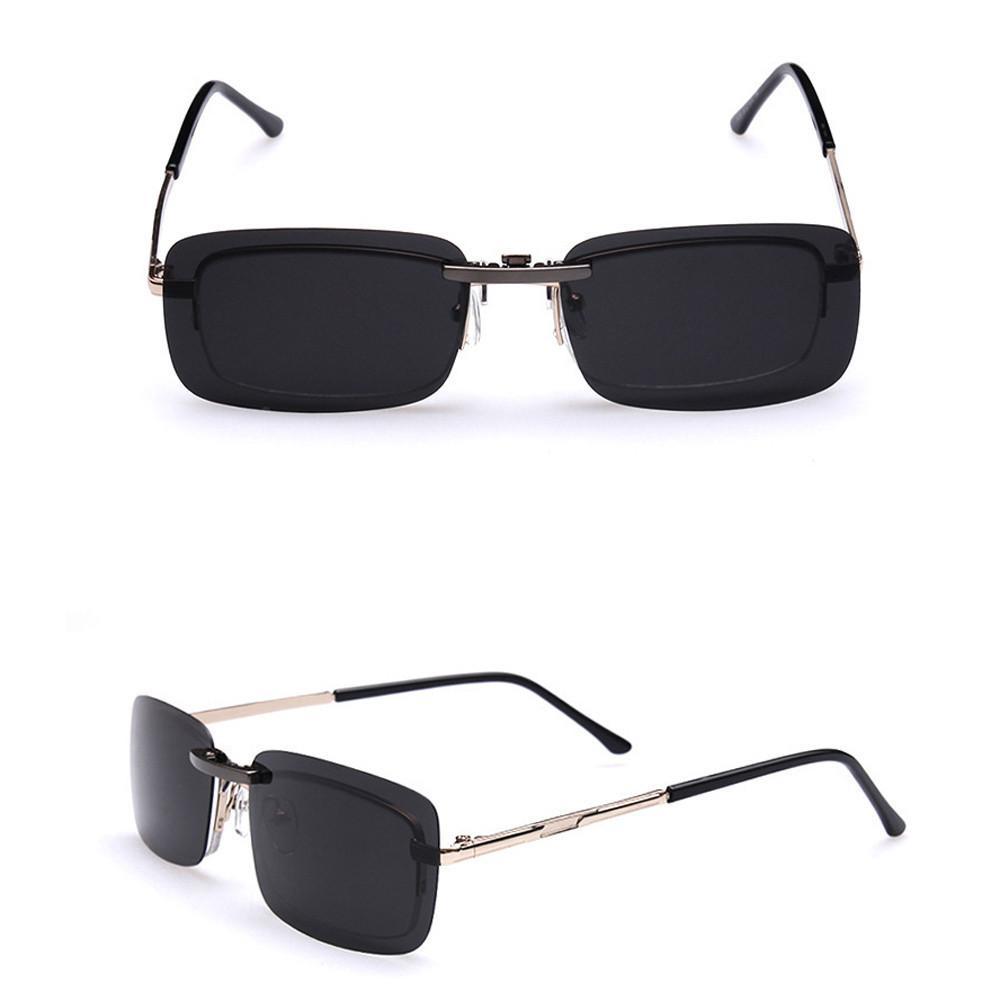b3bb72e4b6a Women Men Sunglasses Detachable Night Vision Lens Driving Metal Polarized  Clip On Glasses Sun Glasses Gafas De Sol Mujer Eyeglasses Sunglasses Hut  From ...