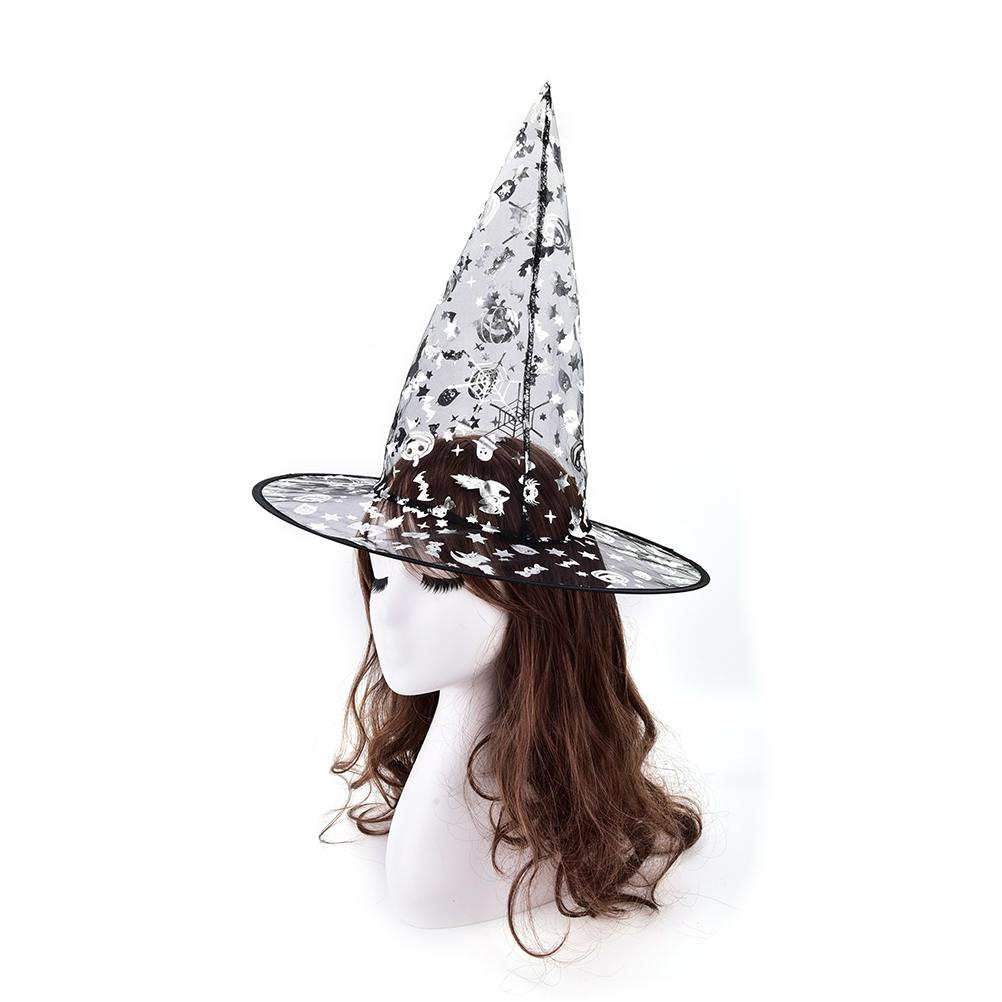 For Halloween Costume Accessory Supplies Party Hats Random Color Kids Adult Women Witch Hat Diy 1st Birthday From