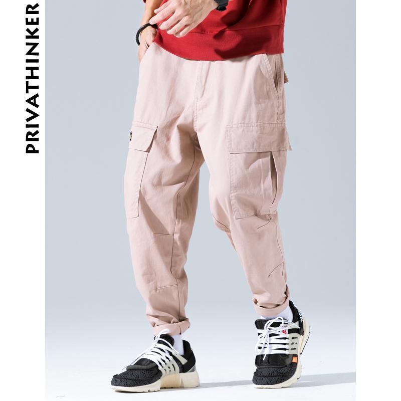 Compre Pantalones De Carga Negros Para Hombre 2018 Mens Streetwear Overoles  Bolsillos Pantalones De Chándal Negros Moda Masculina Japonesa Casual  Joggers A ... ad046b8d2b21