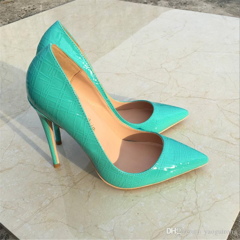 77a8dbef01 Spring And Autumn New Mint, Green, Stone, Fine, And Pointed High Heels,  Fashion Sexy, Shallow Party Banquet Shoes, Custom 33 45 Yards. Prom Shoes  Hiking ...