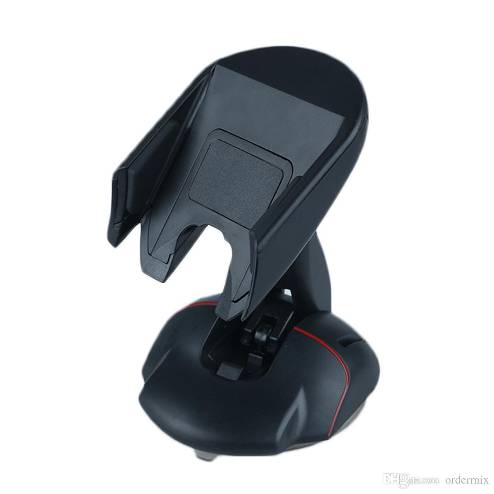 2017 New Car Windshield Phone Holder Mount Mouse Suction Cup Cradle Stand For iphone 6s Samsung S6 Edge GPS Car Phone holder