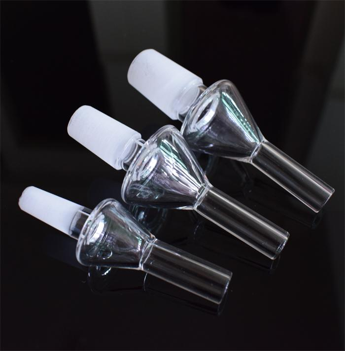 Pointe de quartz de haute qualité au miel Drip tips 10 points de clou de quartz sans dôme 10mm 14mm 18mm inversé pour kit de collecteurs de nectar