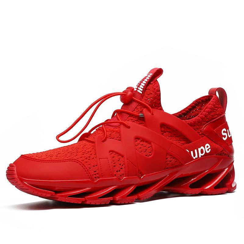 Compre Novas Quatro Estações Andando Sapatos Para Homem Adultos Tênis Ao Ar  Livre Atletismo Masculino Respirável Trekking Mountain Sports Climbing Shoe  De ... ff771812044ed